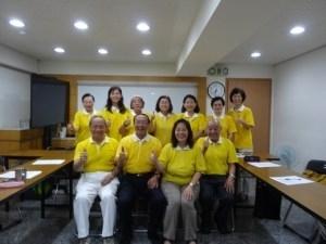 福田讀書會第一組導讀「耐煩的好處」合照